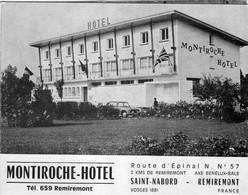 MONTIROCHE-HOTEL, SAINT-NABORD à 2km DE REMIREMONT - Werbung