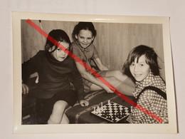 Photo Vintage. Original. Club Des Jeunes Joueurs D'échecs. Échecs. L'URSS - Oggetti