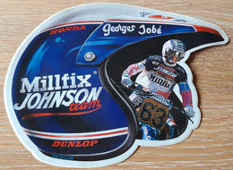 STICKER AUTO-COLLANT, MOTOR CROSS, MOTOCROSS HONDA TEAM GEORGES JOBE - Zonder Classificatie