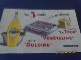 Buvard  Les 3 Amis Savon Vegetaline Huile - Soups & Sauces