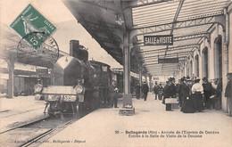 BELLEGARDE - Arrivée Du Train Express De Genève - Entrée à La Salle De Visite De La Douane - 1er Tirage - Bellegarde-sur-Valserine