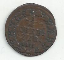 ALLEMAGNE - NASSAU - 1/4 Kreutzer - 1811 - B/TB - Petites Monnaies & Autres Subdivisions