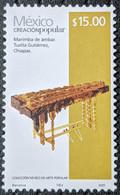 Mexico, 2011, Mi 3552, Folk Art Definitives, Amber Marimba, 1v Out Of Set, MNH - Musica