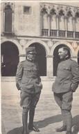 """2120 """"FOTOGRAFIA-THINE (VI) CASTELLO COLLEONI 1917 I. G. M. """" MISURE(6.50x10.50) - Guerre, Militaire"""