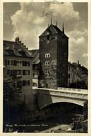 BRUGG AAREBRÜCKE UND SCHWARZER TURM    Suiza Switzerland Suisse Schweiz - Ohne Zuordnung