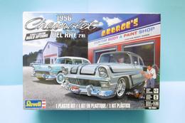 Revell - CHEVROLET DEL RAY 1956 2'N1 Maquette Kit Plastique Réf. 14504 85-4504 NBO 1/25 - Automobili