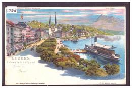 LUZERN - LITHO STEINMANN - TB - LU Lucerne