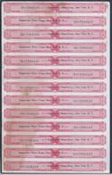 Tax Paid Sheet Of 4/5 Quart. Distilled Spirits. Whiskey Seggerman Nixon Corp, New York. Brandy. - Liquor & Beer