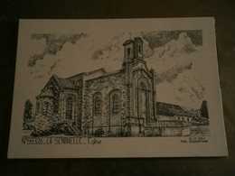 59 - LA SENTINELLE - YVES DUCOURTIOUX - EGLISE- CPSM VIERGE - Other Municipalities
