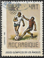 Mocambique – 1984 Olympic Games 4 Meticais Used Stamp - Mozambique