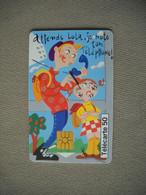 6953 Télécarte Collection  Humour Dessin Animé  N° 3 Le Pense Bête  ( Recto Verso)  Carte Téléphonique - Personaggi