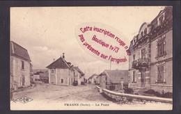 S0412 - FRASNE La Poste - Doubs - Other Municipalities