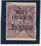 37CRT36 - MADAGASCAR 1895 - Yvert N. 22 Usato. Timbrino Garanzia - Gebruikt