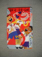 6956 Télécarte Collection  Humour Dessin Animé  N° 7  Les Supporters    ( Recto Verso)  Carte Téléphonique - Personaggi