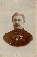 Portrait D'un Officier D'administration De L'intendance, Avant 1914 - Régiments