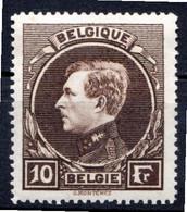 BELGIQUE - 1929-32 - N° 289 - 10 F. Brun - (Albert 1er) - 1929-1941 Groot Montenez