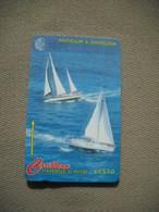 6972 Télécarte Collection SPORT VOILIERS BATEAUX  Antigua Et Barbade Caribéen ( Recto Verso)  Carte Téléphonique - Barche