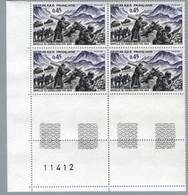 FRANCE 1969 - Yv 1601 - Bloc De 4 Neuf** - Nuevos