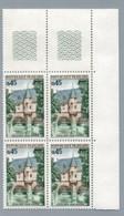 FRANCE 1969 - Yv 1602 - Bloc De 4 Neuf** - Nuevos