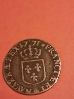 LOUIS XV   - Sol Ou Liard  Vieille Tête 1771 BB Strasbourg - 1774-1791 Lodewijjk XVI Van Frankrijk