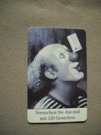 6973 Télécarte Collection  CLOWN Cirque Nez Rouge  ( Recto Verso)  Carte Téléphonique - Personaggi
