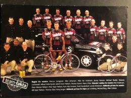Fakta - Team Card - 2001 - Carte / Card - Cyclists - Cyclisme - Ciclismo -wielrennen - Cycling