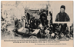 De Honderjarige Van Evere Bij Brussel, Moeder LENAERTS, Geboren Des 5 Augustus 1805, Prachtig Geviert 13/08/1905 - Personaggi Famosi