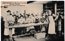 Marcinelle - Manufacture De Tabac Brasseur-Feuillen - Un Coin Dans L'atelier Des Cigarières - Charleroi