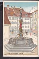 Künstlerpostkarte Luzern  Safranessen  , Fasnacht  1919 - LU Lucerne