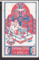 Künstlerpostkarte Luzern Safranessen    , Fasnacht  1925 - LU Lucerne