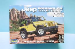 Revell - JEEP WRANGLER RUBICON Maquette Kit Plastique Réf. 14501 85-4501 NBO 1/25 - Automobili