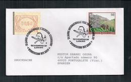 Austria Enveloppe Commémorative Avec Cachet Spécial Des Pompiers 1999 - Bombero