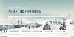 Australian Antarctic Territory  ASC 203MS 2012 Antarctic Expedition II Arrival And Exploration MIniature Sheet MNH - Ungebraucht