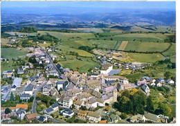 15120 MONTSALVY - Vue Aérienne Sur Le Centre Du Village - Andere Gemeenten