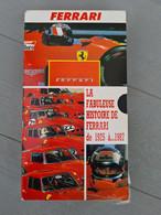 Vhs La Fabuleuse Histoire De Ferrari De 1925 à 1987 - Documentary