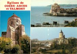 CPSM Eglises De Cozes-Arces Et Talmont    L529 - Unclassified