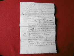 MANUSCRIT EN LATIN CHATEAU DE MONTCLERA HOMMAGE DE BRINGUIER PROCUREUR 1323 - Historical Documents