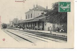 55 - COMMERCY -  La Gare  (Gare Intérieure Animée) - Commercy