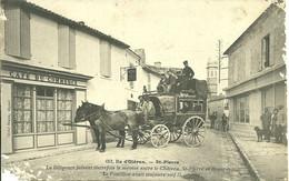 17  SAINT PIERRE - LA DILIGENCE ..... (etat Moyen) (ref A733) - Ile D'Oléron