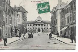 55 - COMMERCY - Quartier Bercheny  (Rue Animée Menant Au Quartier) - Commercy