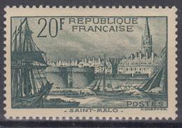 FRANCE : ST MALO N° 394 NEUF ** GOMME SANS CHARNIERE - A VOIR - COTE 100 € - Nuovi