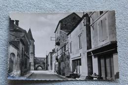 Cpsm 1962, Monpazier, La Rue Notre Dame, à Droite Le Chapitre, Dordogne 24 - Autres Communes