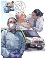(OO 17) Australia - Frontline Heroes Maxicard (COVID-19 Issue) Mint (Ambulance - Nurses Etc) - Maximum Cards