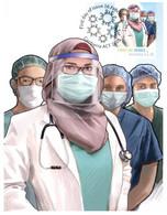 (OO 17) Australia - Frontline Heroes Maxicard (COVID-19 Issue) Mint (Hospital (Staff) - Doctors Etc) - Maximum Cards