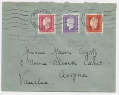 DULAC 1FR50+1FR+50C LETTRE COVER PARIS 82 25.IV.1946 AU TARIF - 1944-45 Marianne Of Dulac