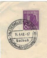 Solbad Salzderhelden Stoffwechselstörungen 1948 - Termalismo