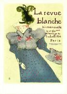 TOULOUSE LAUTREC  La Revue Blanche 1896 RV - Malerei & Gemälde