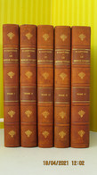 LE MONDE VIVANT / 262 PL. COULEURS / 5 TOMES  / Henri COUTIERE / 1927 – 1930 / Soc. Des Atlas Pittoresques - Other