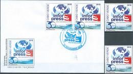 Cabo Verde Cape Verde Infor Press 2018 Serie + FDC MNH - Islas De Cabo Verde