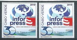 Cabo Verde Cape Verde Infor Press 2018 Serie MNH - Cape Verde